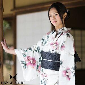 HANAE MORI 浴衣セット「白色 椿」