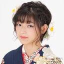 振袖 髪飾り2点セット「白色 ふっくら椿の髪飾り」お花髪飾り コーム髪...