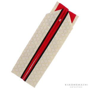 振袖向け 重ね衿「赤×黒×白金菱格子」伊達衿