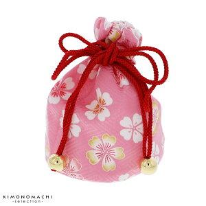 七五三 巾着単品「ピンク 桜」