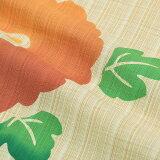 芸艸堂浴衣セット「オレンジ菊花」荻野一水女性浴衣セット注染レディース【メール便不可】