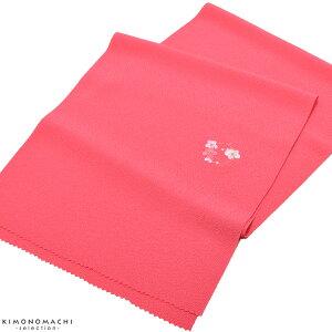 七五三 帯揚げ「ピンク色 花の
