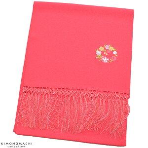 七五三 しごき「ピンク色 花の