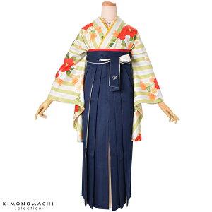 二色袴単品「紺×白」SS、S、