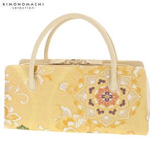 礼装 和装バッグ「ゴールド 華文」