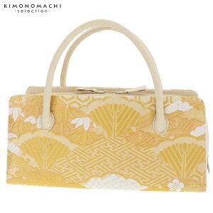 礼装 和装バッグ「ゴールド 吉