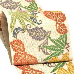 唐織袋帯 錦工芸謹製 六通柄