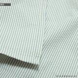 洗える着物木綿着物と木綿名古屋帯の2点セット「サックスブルー縞+白色フラワー」サイズS/M/L/TL/LLKIMONOMACHIオリジナル木綿きものセットコーディネート済み着物セットコットン着物コットン帯小紋レディースカジュアル着物キモノ【メール便不可】