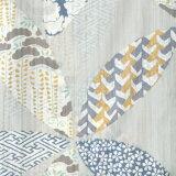 浴衣レディースブランド浴衣単品「HAIBARA(はいばら)グレー花、小紋20H-14」日本製フリーサイズレトロモダン大人柄女性浴衣単品変わり織り浴衣女浴衣ゆかたyukata<H>【メール便不可】