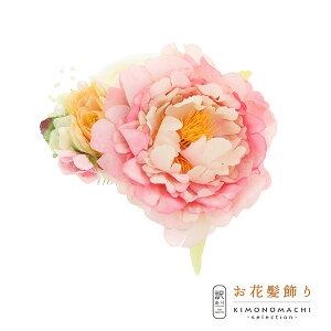 コーム髪飾り 「お花 コーム」