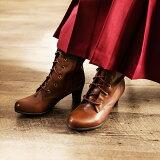 卒業式の袴ブーツ編み上げブーツ袴ブーツ「ブラウン茶SMLLL3L」レディース