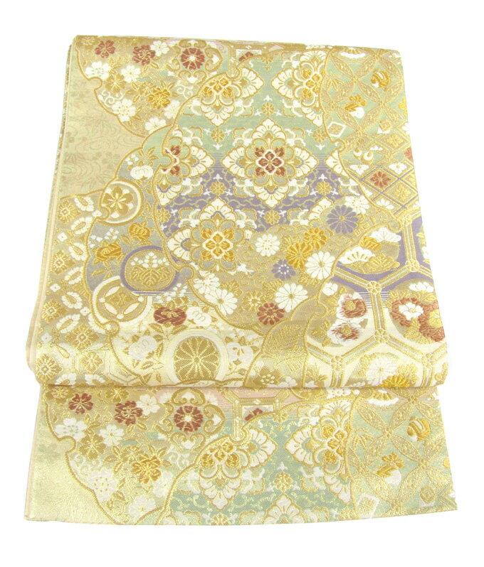 【往復送料無料】】西陣織 高級 袋帯レンタル 001番 着物 帯 袋帯 レンタル 正絹