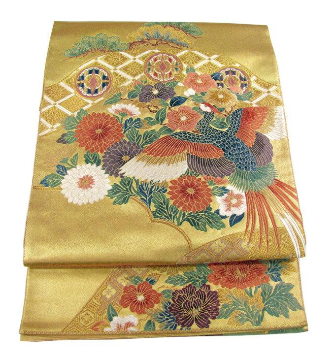 【往復送料無料】】西陣織 高級 袋帯レンタル 002番 着物 帯 袋帯 レンタル 正絹