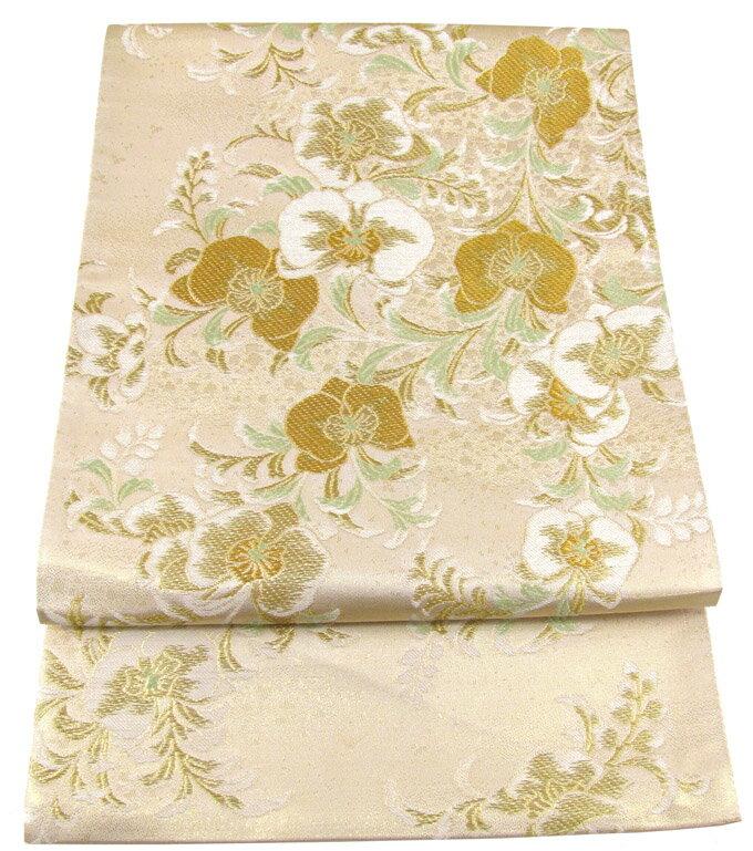【往復送料無料】】西陣織 高級 袋帯レンタル 003番 着物 帯 袋帯 レンタル 正絹