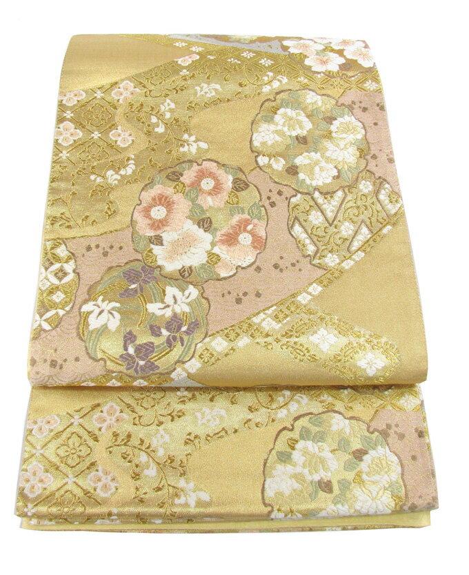 【往復送料無料】】西陣織 高級 袋帯レンタル 004番 着物 帯 袋帯 レンタル 正絹