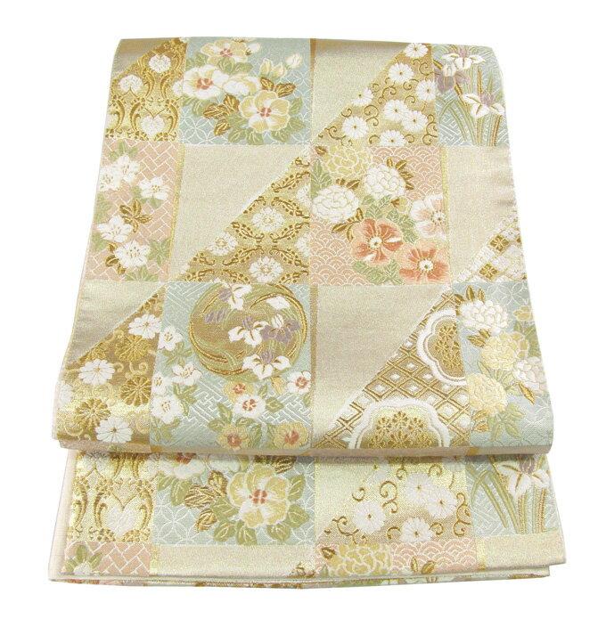 【往復送料無料】】西陣織 高級 袋帯レンタル 006番 着物 帯 袋帯 レンタル 正絹