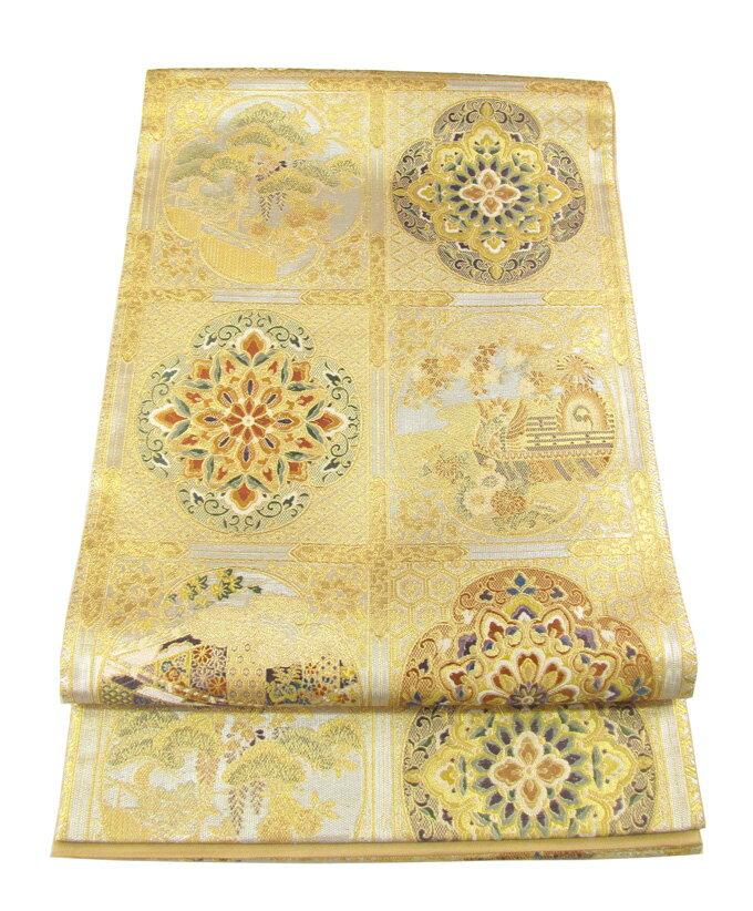 【往復送料無料】】西陣織 高級 袋帯レンタル 007番 着物 帯 袋帯 レンタル 正絹