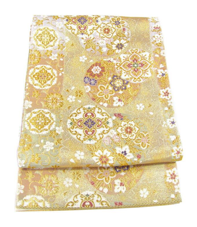 【往復送料無料】】西陣織 高級 袋帯レンタル 009番 着物 帯 袋帯 レンタル 正絹