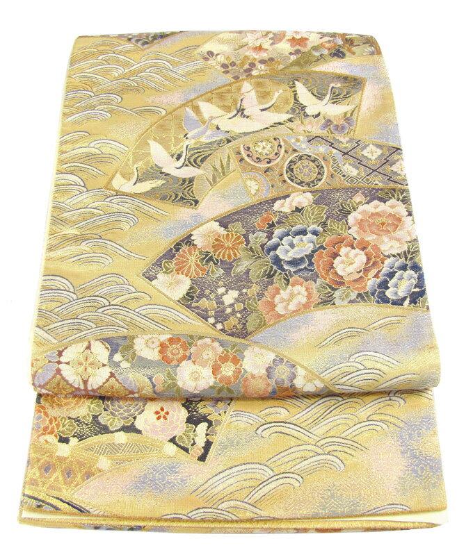 【往復送料無料】】西陣織 高級 袋帯レンタル 011番 着物 帯 袋帯 レンタル 正絹