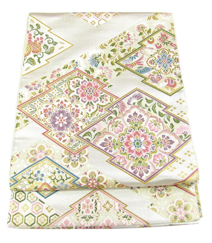 【往復送料無料】】西陣織 高級 袋帯レンタル 013番 着物 帯 袋帯 レンタル 正絹