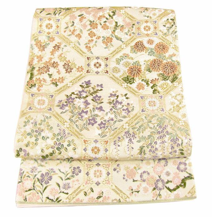 【往復送料無料】】西陣織 高級 袋帯レンタル 016番 着物 帯 袋帯 レンタル 正絹