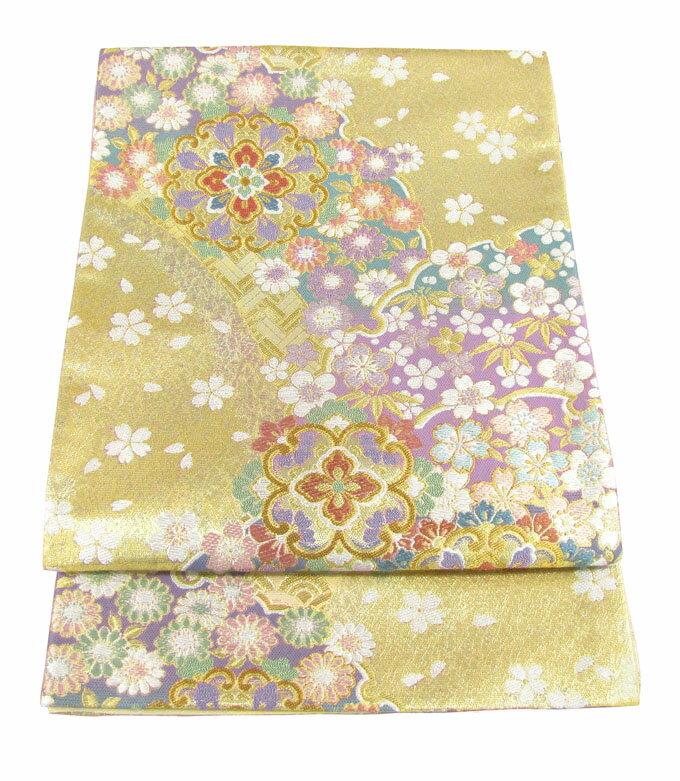 【往復送料無料】西陣織 高級 袋帯レンタル 019番 着物 帯 袋帯 レンタル 正絹