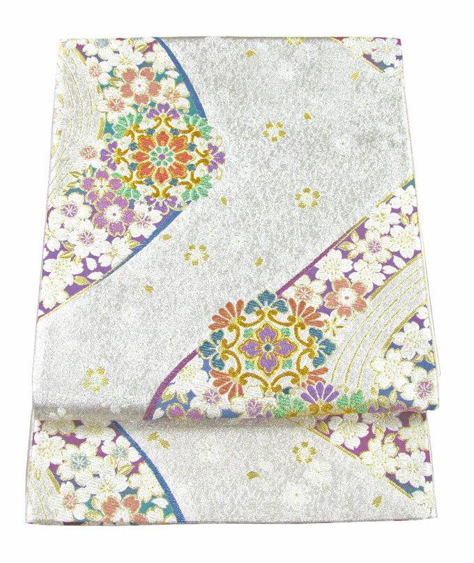 【往復送料無料】】西陣織 高級 袋帯レンタル 020番 着物 帯 袋帯 レンタル 正絹