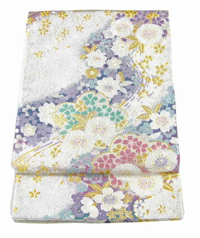 【往復送料無料】】西陣織 高級 袋帯レンタル 021番 着物 帯 袋帯 レンタル 正絹