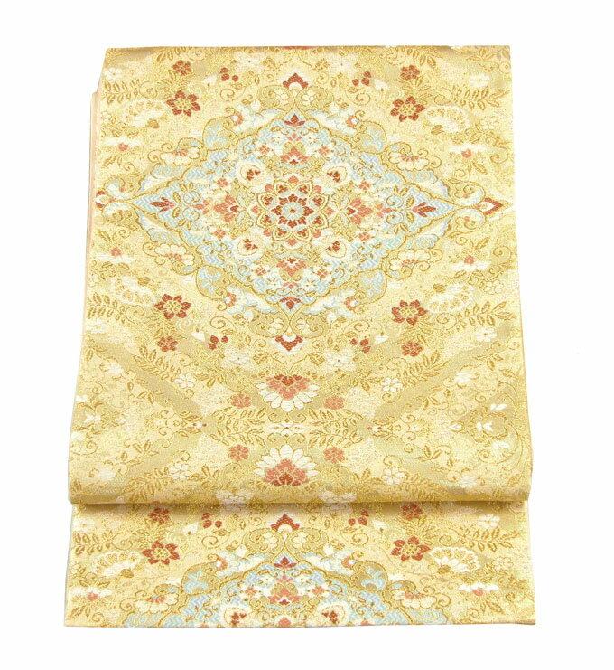 【往復送料無料】】西陣織 高級 袋帯レンタル 022番 着物 帯 袋帯 レンタル 正絹
