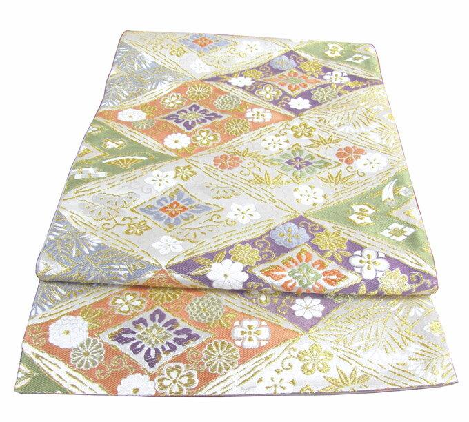 【往復送料無料】】西陣織 高級 袋帯レンタル 028番 着物 帯 袋帯 レンタル 正絹