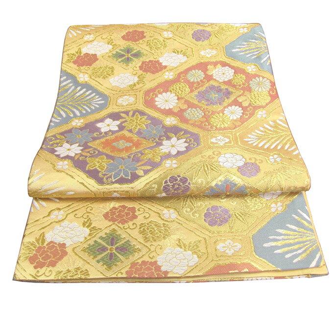 【往復送料無料】】西陣織 高級 袋帯レンタル 030番 着物 帯 袋帯 レンタル 正絹