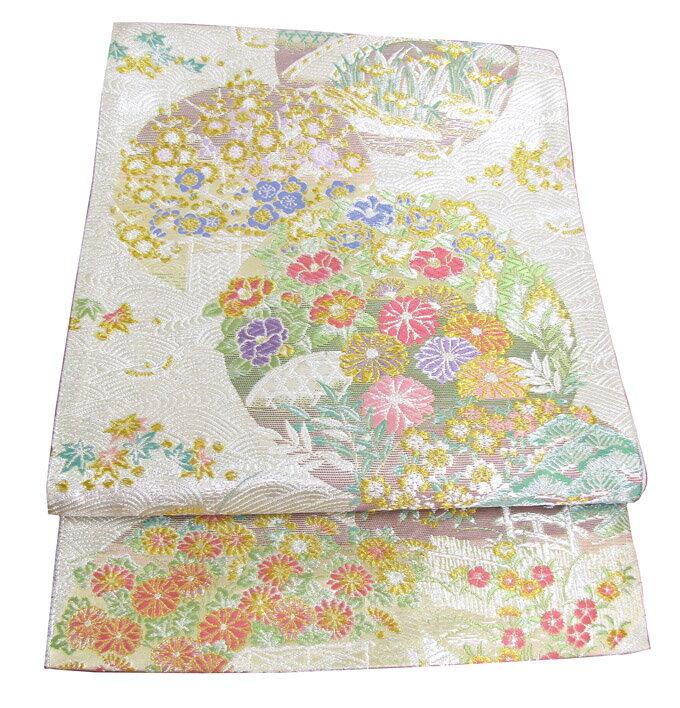 【往復送料無料】】西陣織 高級 袋帯レンタル 031番 着物 帯 袋帯 レンタル 正絹