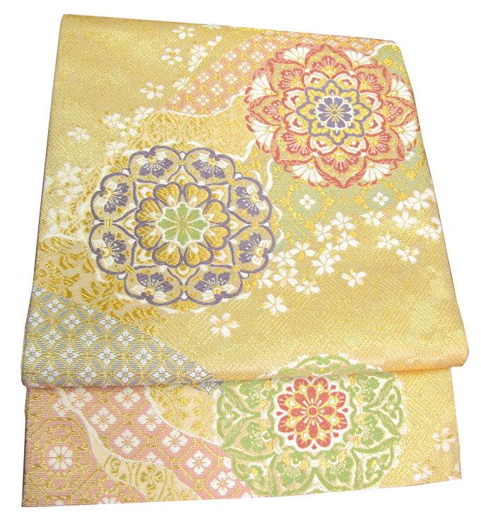 【往復送料無料】】西陣織 高級 袋帯レンタル 033番 着物 帯 袋帯 レンタル 正絹