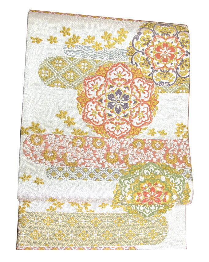 【往復送料無料】】西陣織 高級 袋帯レンタル 034番 着物 帯 袋帯 レンタル 正絹