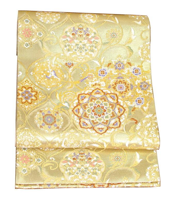 【往復送料無料】】西陣織 高級 袋帯レンタル 036番 着物 帯 袋帯 レンタル 正絹