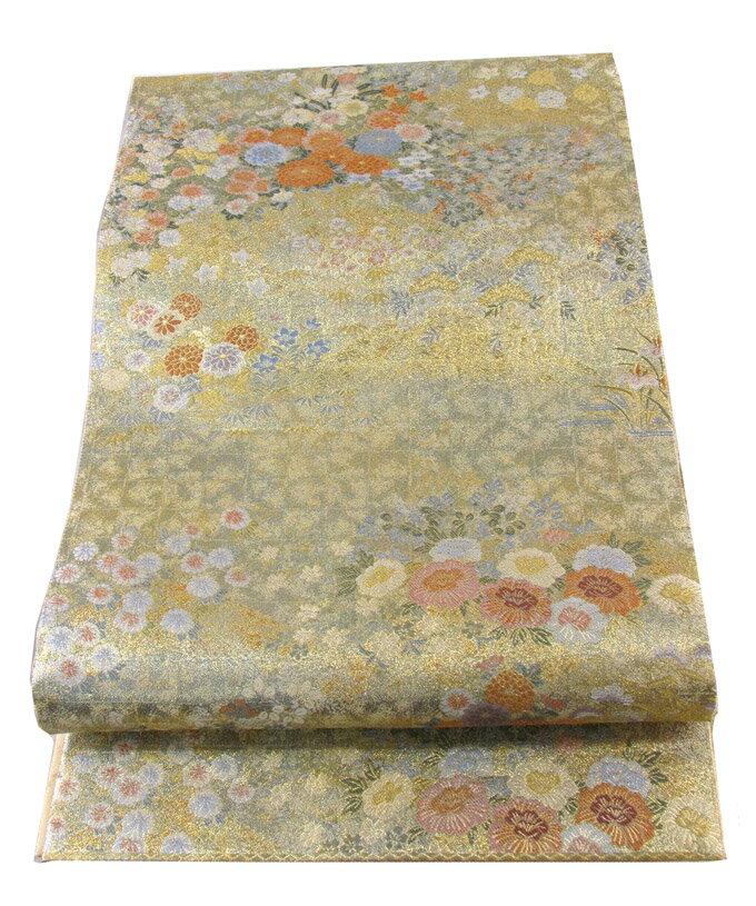 【往復送料無料】西陣織 高級 袋帯レンタル 041番 着物 帯 袋帯 レンタル 正絹