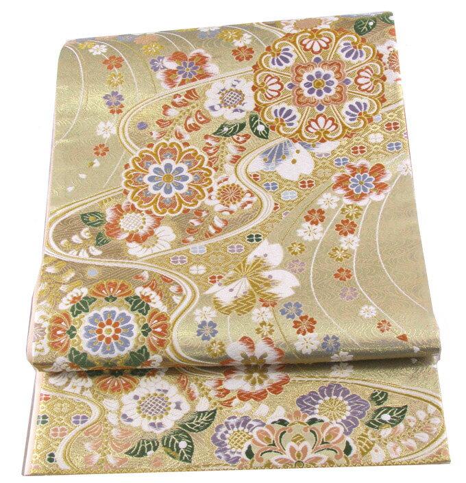【往復送料無料】西陣織 高級 袋帯レンタル 042番 着物 帯 袋帯 レンタル 正絹