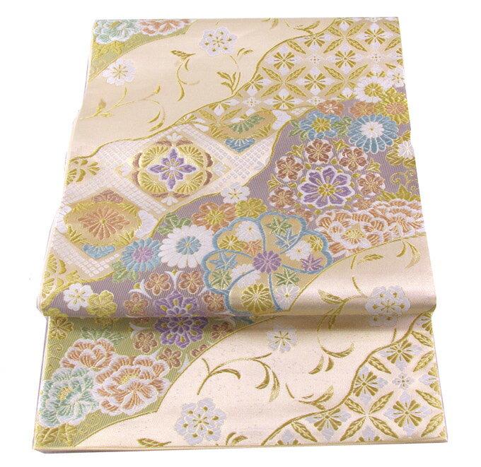 【往復送料無料】西陣織 高級 袋帯レンタル 043番 着物 帯 袋帯 レンタル 正絹