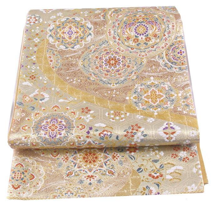 【往復送料無料】西陣織 高級 袋帯レンタル 044番 着物 帯 袋帯 レンタル 正絹