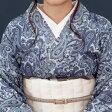 【Asumo® インディゴ抜染着物】国内唯一の技術力を最大限活かした独特の藍の新しい世界 Indigo BASSEN KIMONO -NOUVELLE JAPON STYLE-【送料無料】