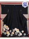 【レンタル】 単衣 黒留袖レンタル 着物レンタル 留袖 t-212 【単衣】 フルセット 黒留袖 レンタル 結婚式 披露宴 レンタル 母親 親族 列席者 おすすめ 貸衣装 正絹 姉妹 叔母 伯母