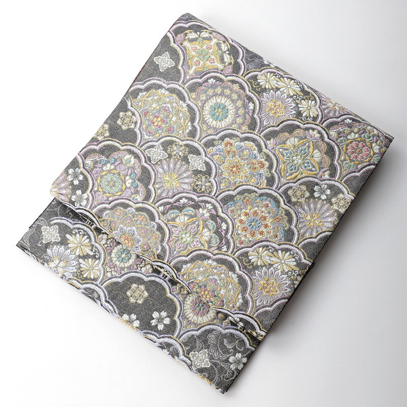 【レンタル】桂由美 袋帯 シックなタイプ yk-obi-2502