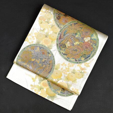 【レンタル】 螺鈿鳳凰の袋帯【obi-27-312】