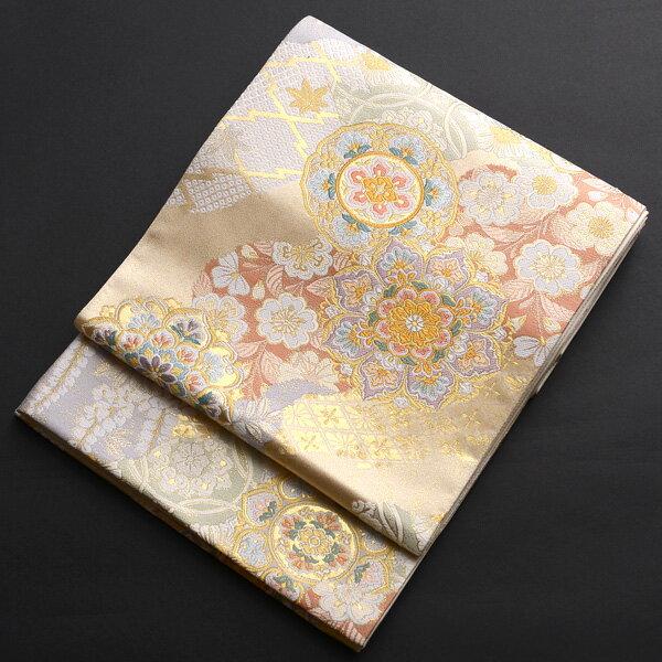 【レンタル】 正倉院文様の西陣織袋帯【obi-26-101】