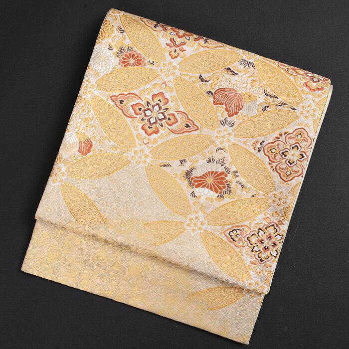 【レンタル】 KIMONO-PRO黒留袖・色留袖・訪問着に最適な高級袋帯 加納幸謹製 七宝 金地 obi-26-306