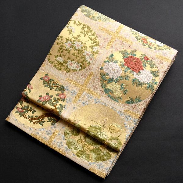 【レンタル】 西陣織の高級袋帯レンタル【obi-26-284】