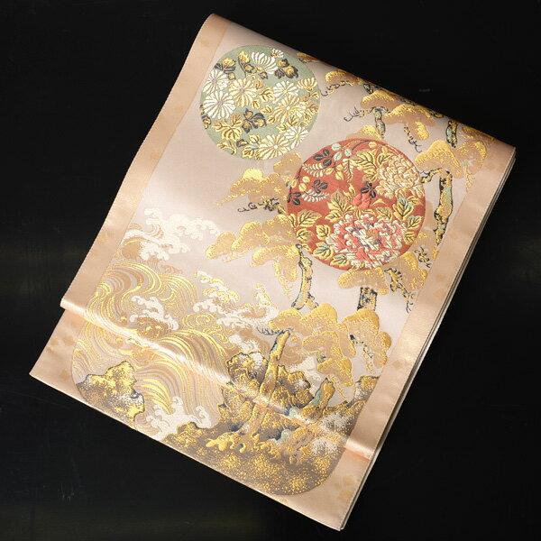 【レンタル】 西陣織の高級袋帯レンタル【obi-26-287】