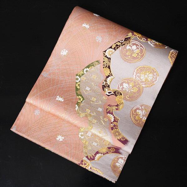 【レンタル】 西陣織の高級袋帯レンタル【obi-26-289】