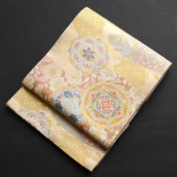 【レンタル】 正倉院文様の西陣織袋帯【obi-26-99】