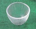 《日本製》なぎさ丸型(そばちょこ)【ガラス 器】【ガラス 鉢】【ハンドメイド】